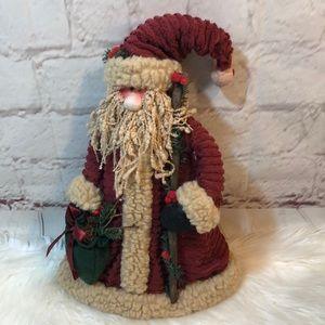 VINTAGE VICTORIAN FREESTANDING CHRISTMAS SNOWMAN